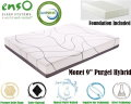 "Monet 9"" MemoryTex Twin Mattress Plus Foundation; Comfort You Want & Need"