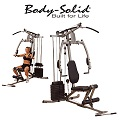 Body-Solid Sportsman Home Gym With Natural Arc Padded Pressing Arms & A No Cable Change Design