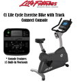 Life Fitness Lifecycle Exercise Bike Featuring Track Connect Console