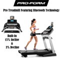 Pro-Form Pro 2000 Treadmill Featuring Bluetooth and ProShox Cushioning Technology