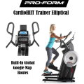 Pro-Form CardioHIIT Trainer Elliptical Featuring Google Map  Delivery and Assembly Included