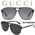 Gucci Men's Aviator Acetate Grey Tortoiseshell Sunglasses-Available In Grey Lens