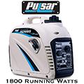 Pulsar 1,800 Watt Portable Inverter Generator