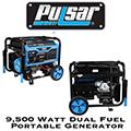 Pulsar 9,500 Watt Portable Generator