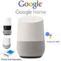 Google Home White Slate Personal Assistant Featuring Far-Field Voice Recognition