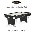 Brunswick V-Force Air Hockey Table With Two Mallets and Four Pucks