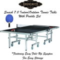 Brunswick Smash 7.0 BlackIndoor & Outdoor Table Tennis With Outdoor Table Tennis Kit