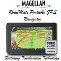 Magellan RoadMate Automobile Portable GPS Navigator Featuring Touch Screen Technology
