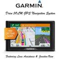 Garmin Drive 50LM GPS Navigation System With Drive Alert Technology- Available In Black