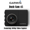 Garmin Dash Cam 45 Featuring 1080p Video Capture Technology-Available In Black