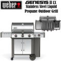 Weber Genesis II LX S-340 Stainless Steel Liquid Propane Gas Outdoor Grill