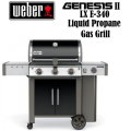 Weber Genesis II LX E-340 Liquid Propane Gas Outdoor Grill