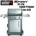 Weber Spirit SP-330 Stainless Steel Liquid Propane Gas Grill