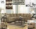 Cuddle Up In The Warmth Of This Intimate 13PC Total Room Pkg Featuring Modern Design At Great Value