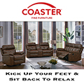 Sit Back & Relax In Your 2PC Reclining Collection Featuring Brown Tri-Tone Faux Leather Upholstery