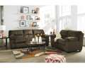 Bundle Up & Save W/FREE Full Sleeper Upgrade & Recliner W/Complete 19PC Pkg In Chocolate Upholstery