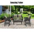 Spend More Time Lounging Outdoors with this 6-Piece Patio Set by Hanover Outdoor