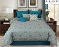 Gemma Adult Collection 9-Piece King Bedding Set