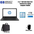 "HP 15.6"" 8GB Intel Dual Core Laptop Bundle With Wireless Mouse And Briefcase Style Bag"