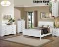 Classic Louis Philippe 7PC Bedroom Pkg Offering Your Choice Of White, Black Or Brown Cherry Finish