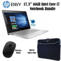 "HP ENVY 17.3"" LCD TouchScreen Laptop -Intel Core i7 - 1TB HD, Carrying Case & Wireless Mouse"