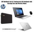 "HP EliteBook 840 G5 14"" Touchscreen Notebook-Intel Core i5, Carrying Case & Wireless Mouse"