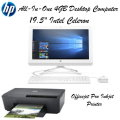 "HP Envy 19.5"" All-In-One 4GB Bundle With Officejet Pro Inkjet Printer"