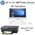 "HP Envy 24"" All-In-One 4GB Bundle With Officejet Pro Inkjet Printer"