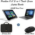 "HP Pavillion 11.6""  4GB Touchscreen Laptop With Carrying Case & Wireless Mouse"