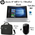 "HP Spectre 12"" 4GB Touchscreen 2-In-1 Intel Core M3 Ultra Book Bundle With Case & Wireless Mouse"