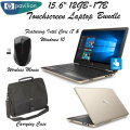 "HP Pavilion 15.6"" 12GB Touch-Screen Laptop Featuing Intel Core i7 With Carry Bag & Wireless Mouse"