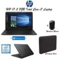 """HP 17.3"""" 8GB Intel Core i7 Laptop Bundle With Case Logic Carrying Case & HP Wireless Mouse"""