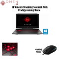 "HP Omen 17.3"" LCD 12GB Intel Core i7 Gaming Notebook with Wireless Gaming Mouse"