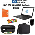 "An Ultimate Back To School Bundle Featuring an HP 15.6"" 8GB Intel Core i5 250 G6 LCD Notebook & More"