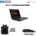 "HP 15.6"" HP OMEN Gaming Laptop-i5-12GB NVIDIA GeForce GTX 1TB Backpack & Mouse"