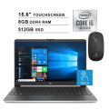 "2020 HP Pavilion 15.6"" Touchscreen Laptop Intel Core i5 (Beats i7-750U) 32GB RAM & Wireless Mouse"