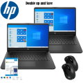 "Double up and Save with this HP Bundle 2 - 14"" Laptops with Microsoft 365 up to 6 People"