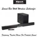 Klipsch Soundbar With Wireless Subwoofer with Built in Dolby Audio