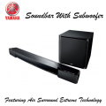 Yamaha Sound Bar With Wireless Subwoofer Featuring Air Surround Xtreme Technology