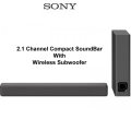 Sony 2.1Ch. Compact Sound Bar with Wireless Subwoofer