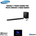 "Samsung 3.1 Channel Soundbar System with 6-1/2""  Wireless Subwoofer & Digital Amplifier"