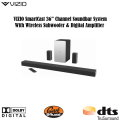 "VIZIO Smartcast 36"" 5.1 Channel Soundbar System with 5"" Wireless Subwoofer & Digital Amplifier"