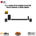 LG 4.1 Channel Hi-Res Soundbar System With Wireless Subwoofer and Digital Amplifier