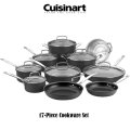 Cuisinart Hard Anodized 17-Piece Cookware Set