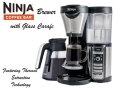 Ninja Coffee Bar Brewer With Glass Carafe With Thermal Flavor Extraction Technology