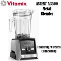 Vitamix Ascent A3500  Metal Blender-Featuring Wireless Connectivity In Brushed Stainless Steel