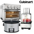 Cuisinart 3PC Bundle Air Fryer Toaster Oven  Slow Cooker &Food Processor
