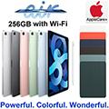 "Apple 10.9"" iPad Air 256GB with Wifi Bundled W/Apple Pencil,Smart Folio & AppleCare+ Protection Plan"