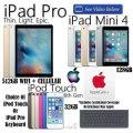 Apple 512GB iPadPro W/WiFi & Cell & 128GB Mini4 + AppleCare+ & Choice Of 32GB iPodTch Or Keyboard