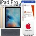 Apple 128GB iPad Pro W/WiFi Including Smart Keyboard, MicrosoftOffice 365 Personal & AppleCare+